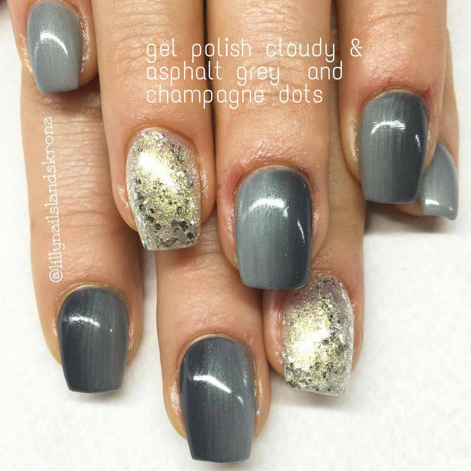 Lilly Nails Gel Polish Asphalt Grey