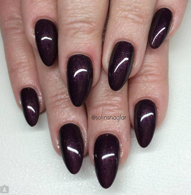Lilly Nails Gel Polish Aubergine