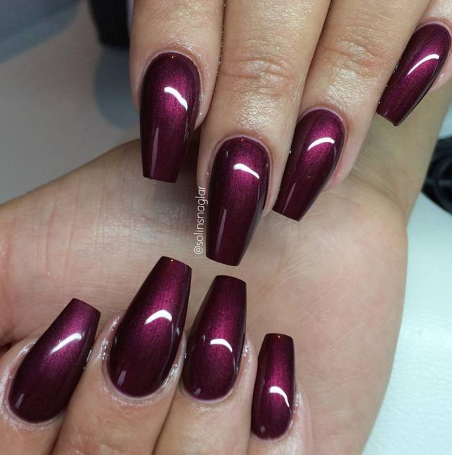 Lilly Nails Gel Polish Black Cherry1