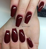 Lilly Nails Gel Polish Vamp Red