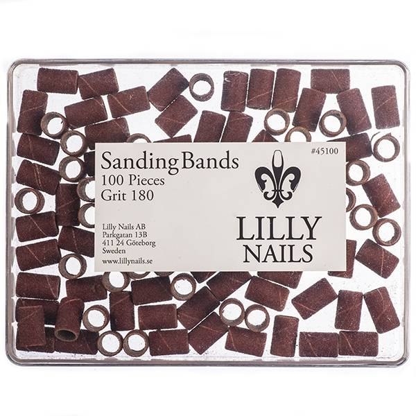 Lilly Nails Elec Vijlen Sandpaper Bit Medium Voor100