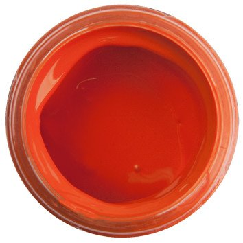 Acrylic Paint Flame Orange