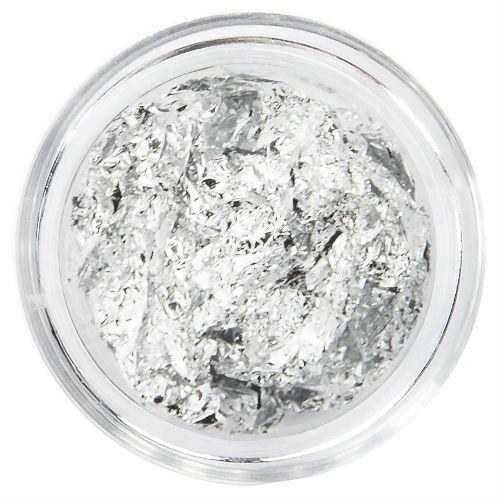 Nailart Inlay Folie Silver