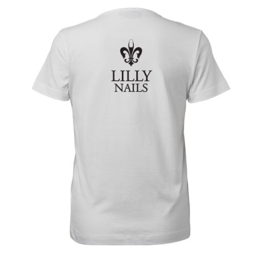 Lilly Nails Lilly Nails T Shirt Wit1