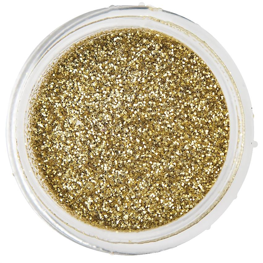 Nailart Glitter Golden Champagne