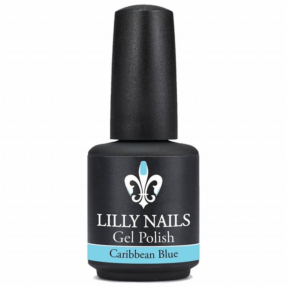 Gel Polish Caribbean Blue