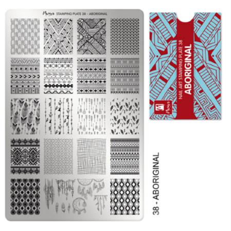 Moyra Stamping Plate Aboriginal