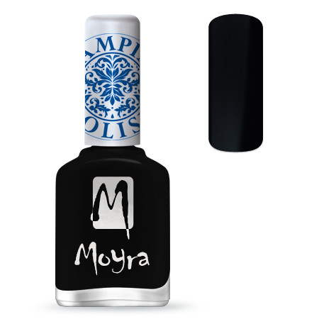 Moyra Stempel Polish Zwart 12ml