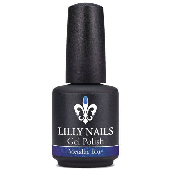 Gel Polish Metalic Blue