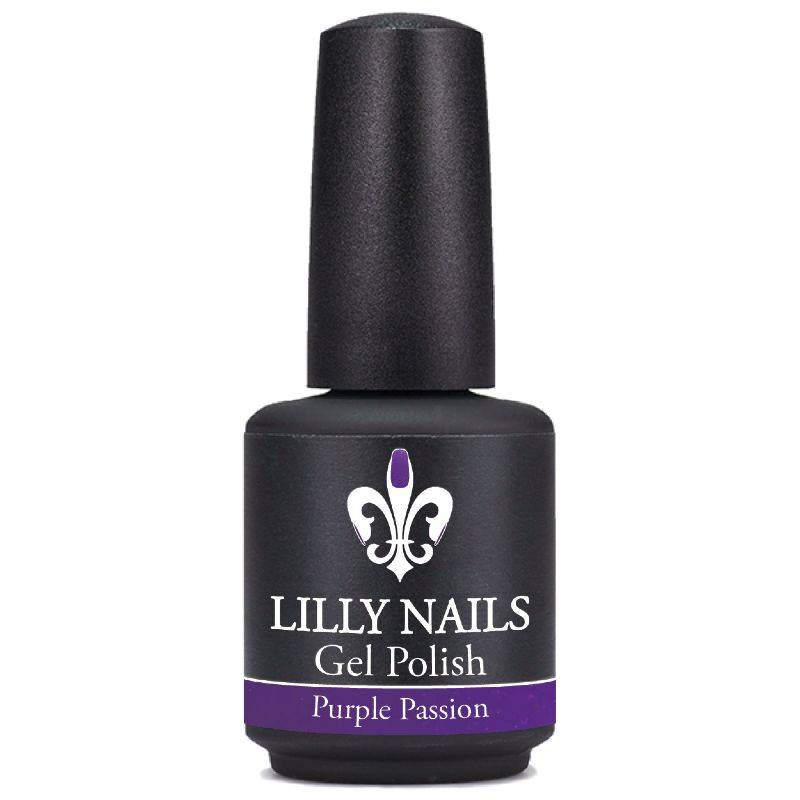 Gel Polish Purple Passion