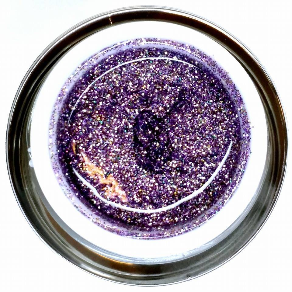 Gel Rock Glitter Amethyst