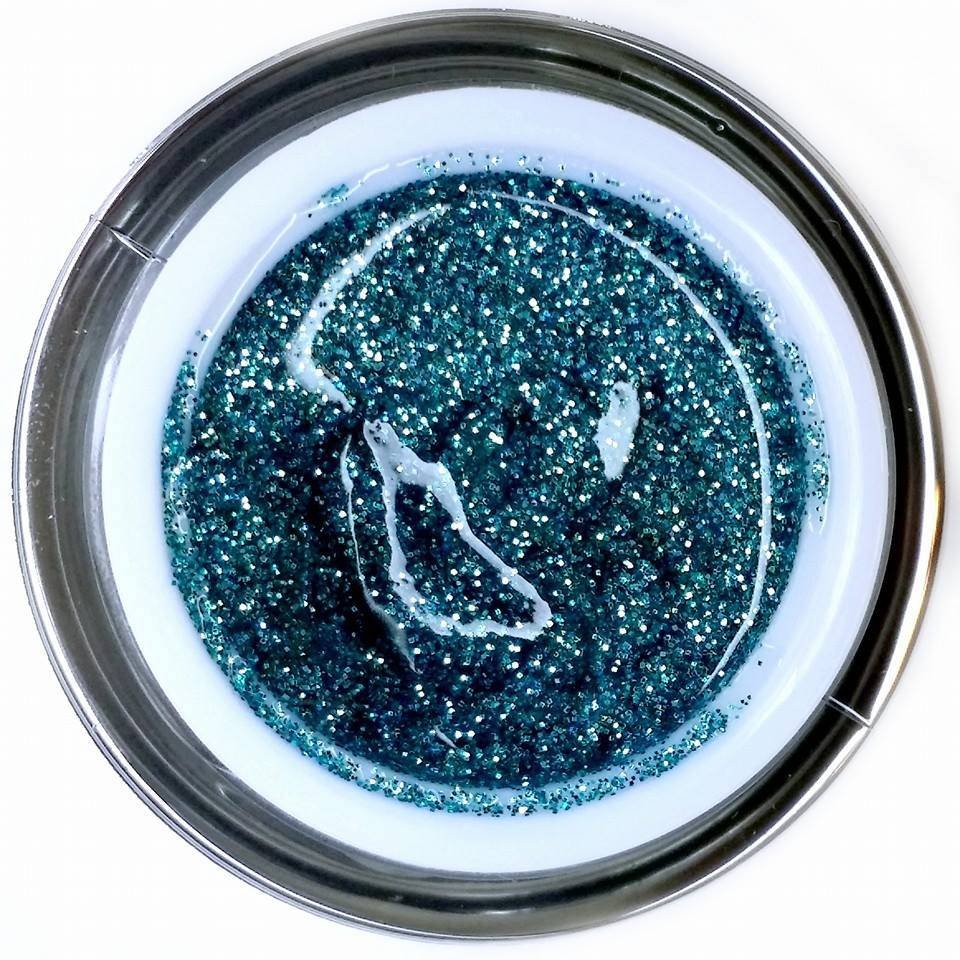 Gel Rock Glitter Cryptonite