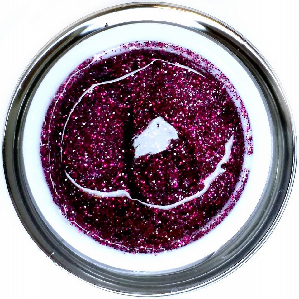 Gel Rock Glitter Sparkling Ruby