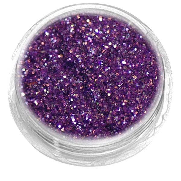 Nailart Glitter Bright Purple