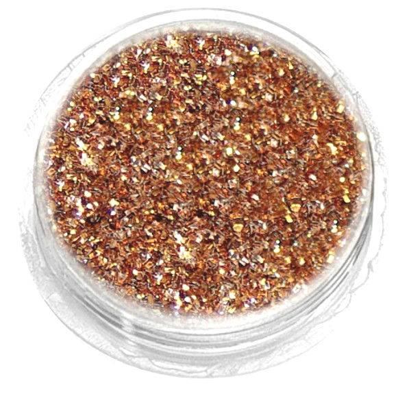 Nailart Glitter Brons