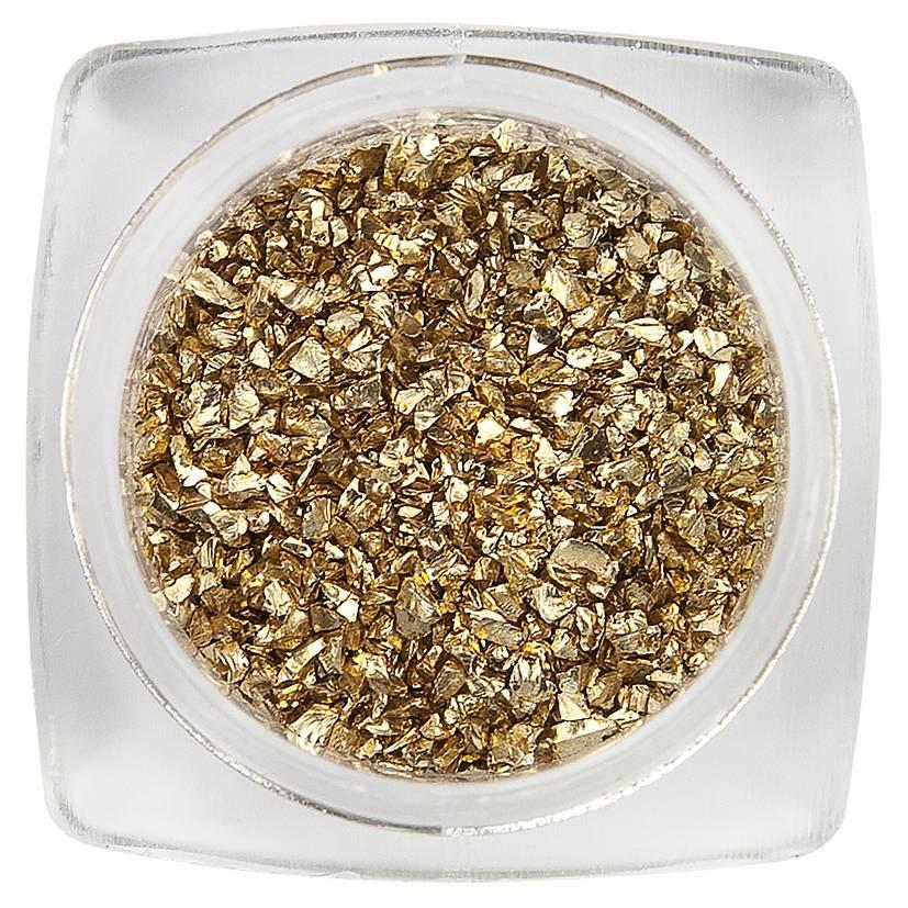 Nailart Glitter Golden Grains