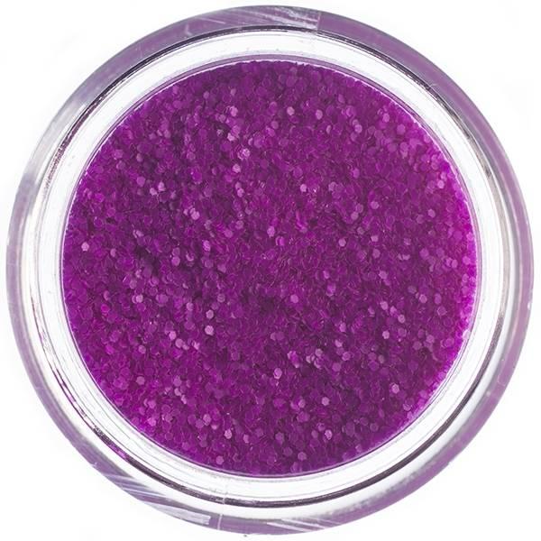 Nailart Glitter Purple Matte