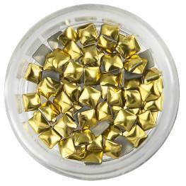 Nailart Large Gold Rivets
