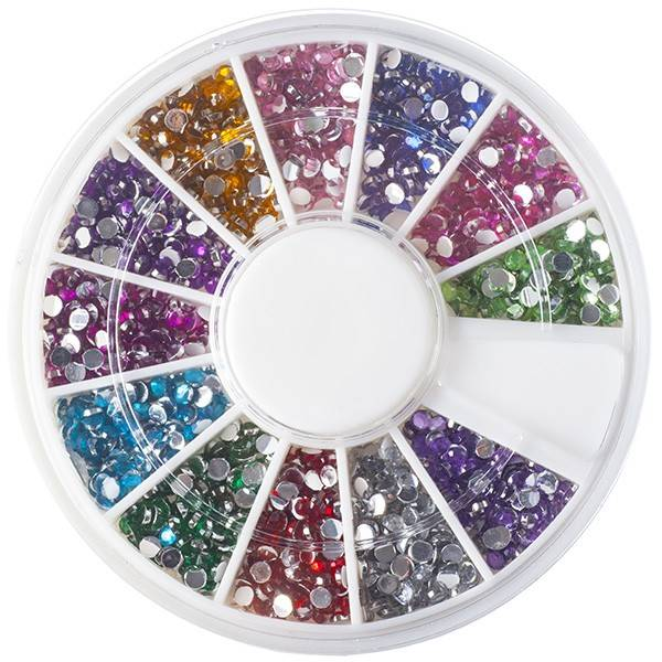 Nailart Strass Mix Of Rhinestones