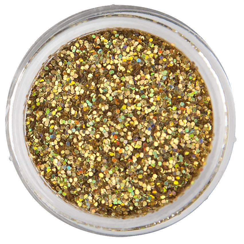 Nailart Glitter Disco Gold