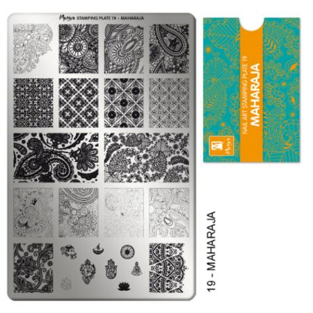 Moyra Stamping Plate Maharaja