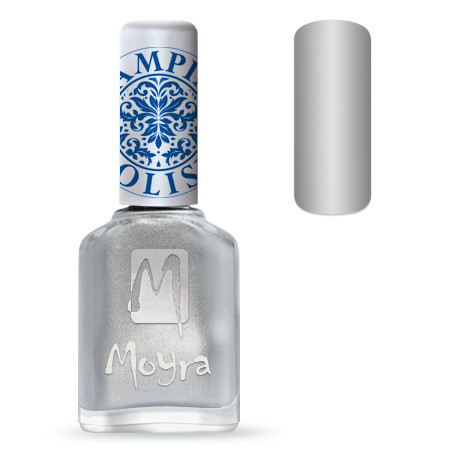 Moyra Stempel Polish Zilver 12ml