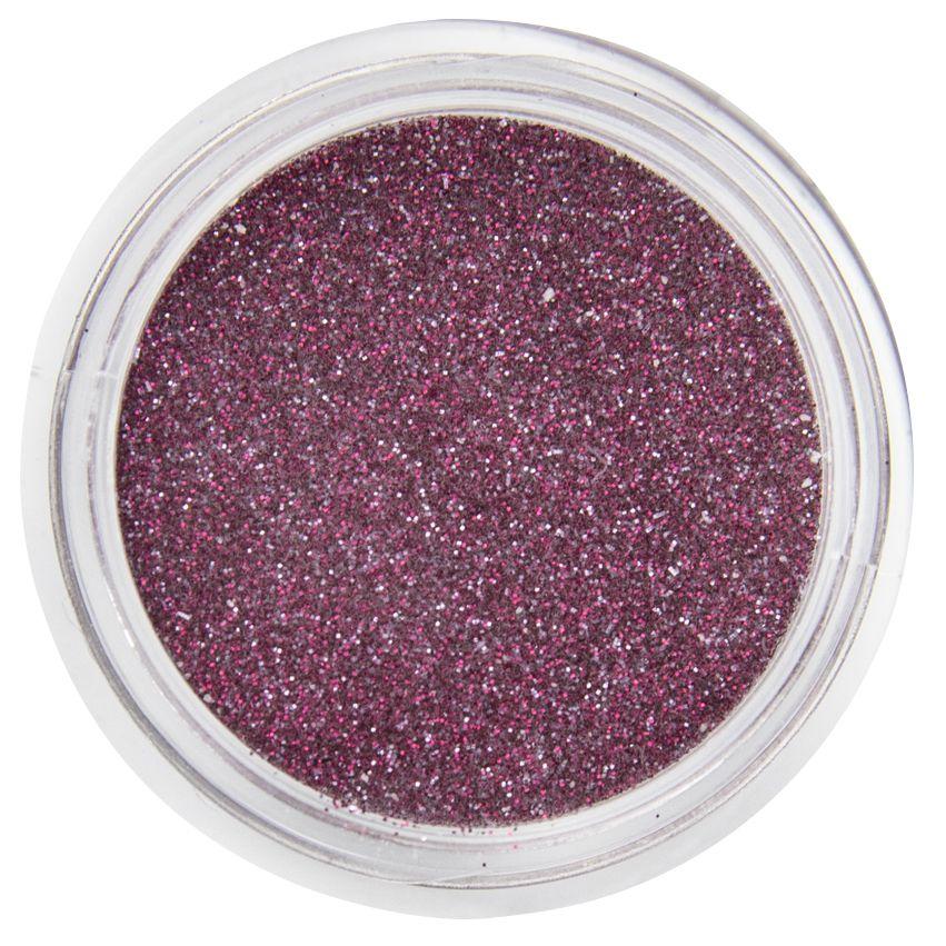 Acryl Glitter Sparkling Ruby