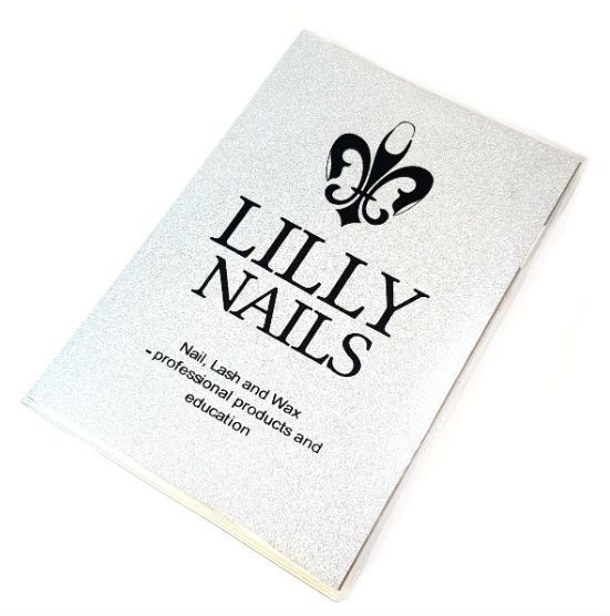 Notitieblok Lilly Nails Zilver Glitter