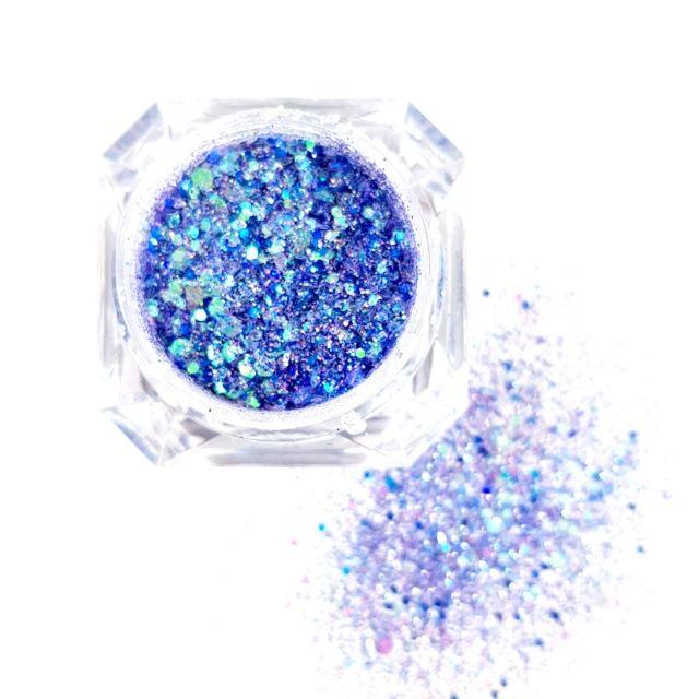 Glittermix Solin Lavendel
