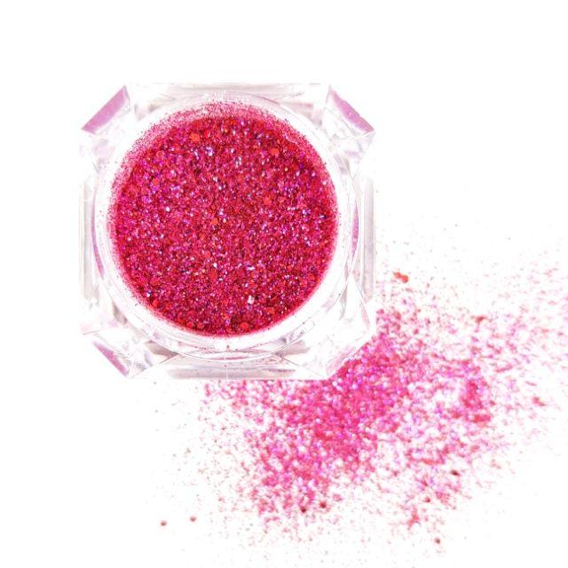 Solins Glittermix Rasberry