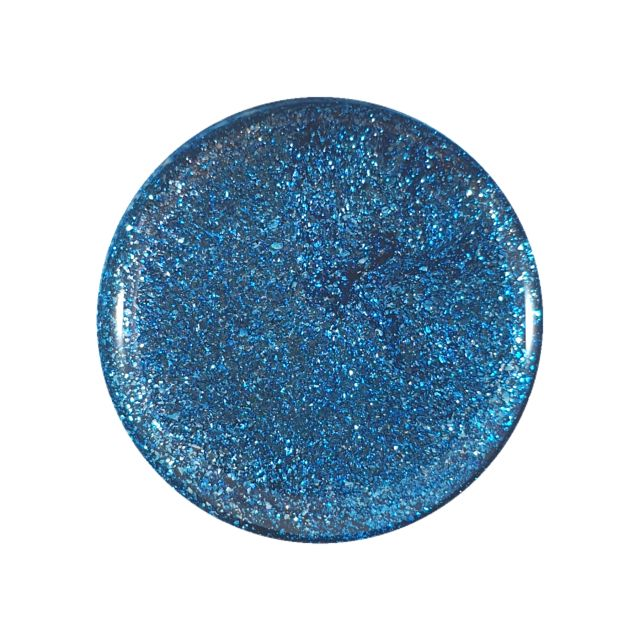 Glitter Gel Metallic Blue