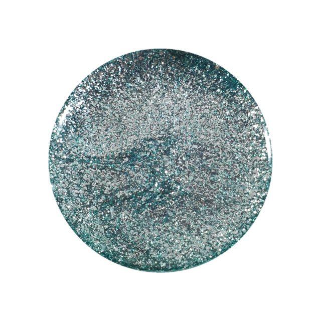 Glitter Gel Metallic Turquoise