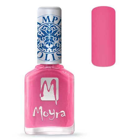 Nailart Moyra Stempel Nail Polish Pink 12ml