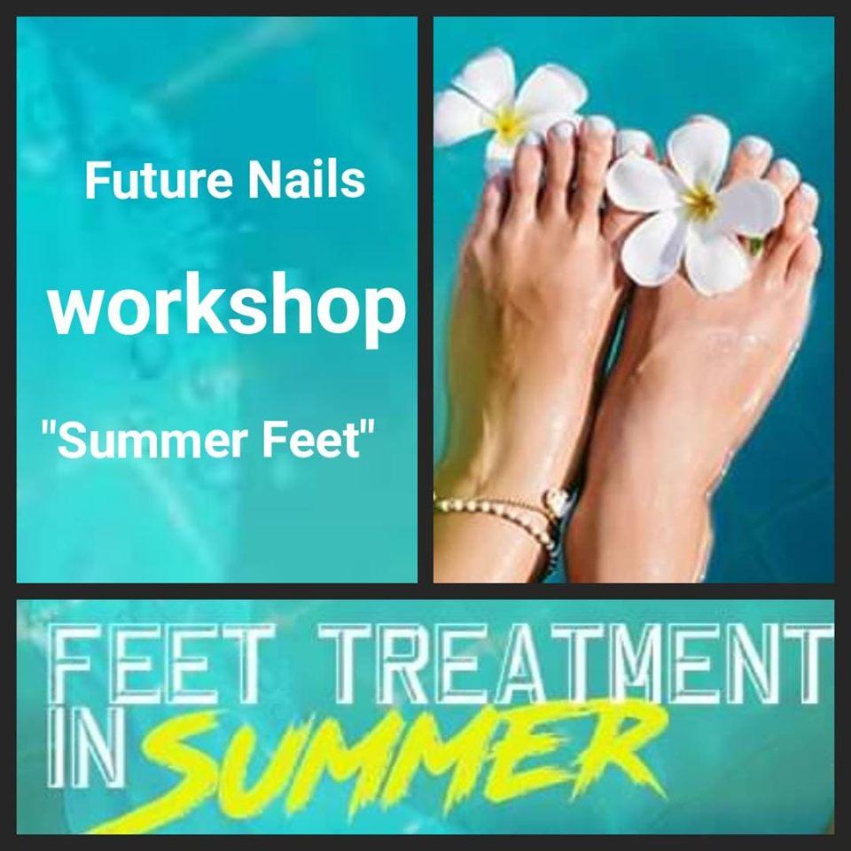 Workshop Summer Feet 4 Juni 2019